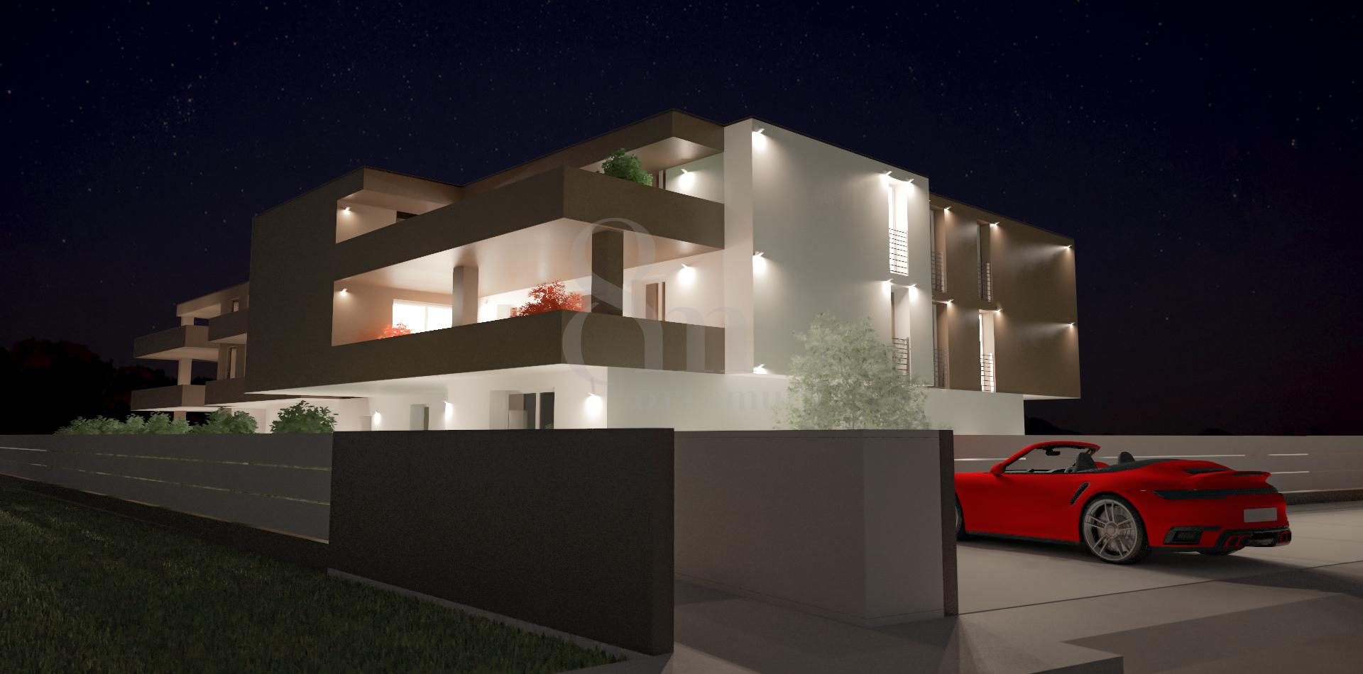 Vendita Appartamento Sant'Angelo di piove di sacco SA-06. Nuovo, Garage singolo, Riscaldamento Autonomo, 75 mq.